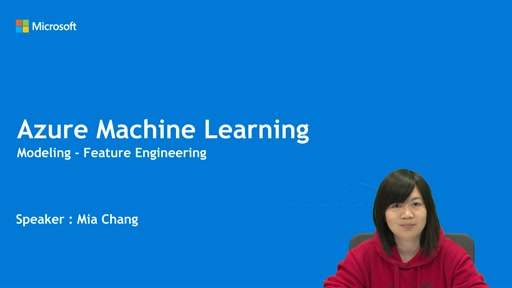 Azure Feature Engineering 資料分析應用