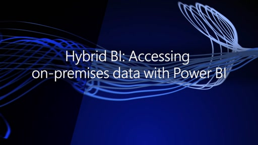 Hybrid BI: Accessing on-premises data with Power BI