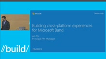 Building Cross-Platform Experiences for Microsoft Band
