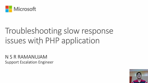 Troubleshooting Slow Response Issues with PHP Application