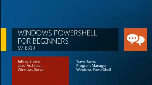 Windows PowerShell for Beginners