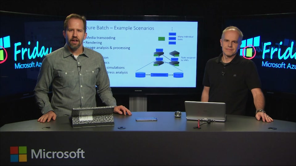 Introduction to Azure Batch with Mark Scurrell