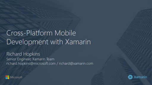 Richard Hopkins (Xamarin)