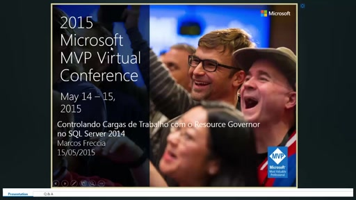 BRA Track Day2 -  Controlando cargas de trabalho com Resource Governor no SQL Server 2014