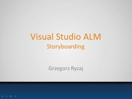 Storyboarding - Kurs Visual Studio ALM 2012 - odc. 5