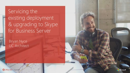 Servicing the Existing Deployment and Upgrading to Skype for Business