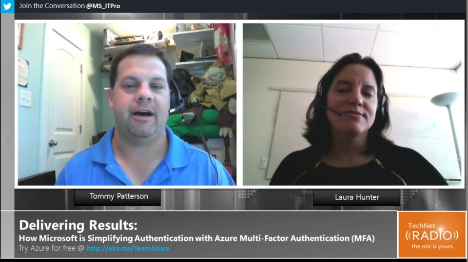 TechNet Radio: Delivering Results: How Microsoft is Simplifying Authentication with Azure MFA