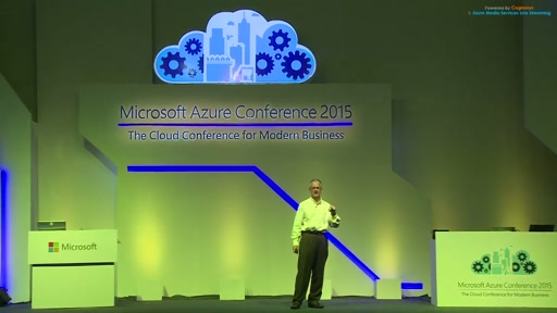 Keynote session at Microsoft Azure Conference 2015 - Dave Campbell