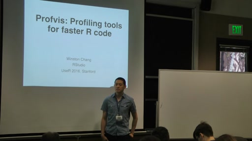 Profvis: Profiling tools for faster R code