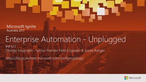 Enterprise Automation - Unplugged