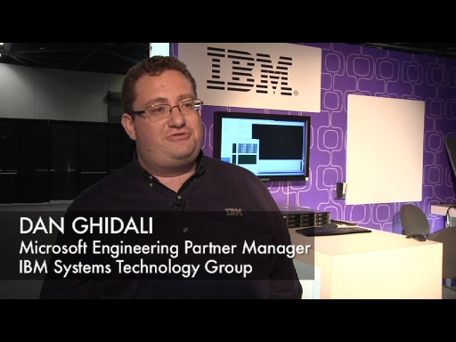 BUILD Expo: IBM on Windows Server 8
