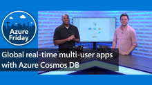 Global real-time multi-user apps with Azure Cosmos DB