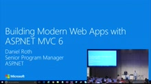 Building Modern Web Apps with ASP.NET MVC 6