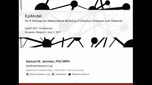 EpiModel: An R Package for Mathematical Modeling of Infectious Disease over Networks