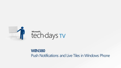 WIN380 - Push Notifications and Live Tiles in Windows Phone - Live Q&A with Erez Harari