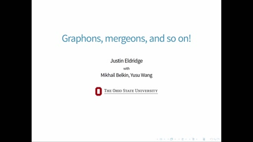 Graphons, mergeons, and so on!