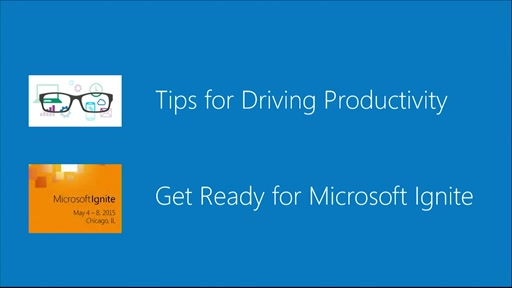 Real World IT - Highlights on Productivity and Microsoft Ignite
