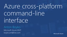 06   Managing Linux VM in Azure part 3: Azure Command Line interface