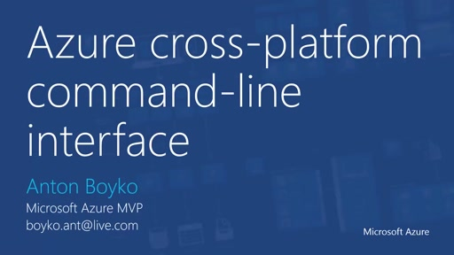 06 | Managing Linux VM in Azure part 3: Azure Command Line interface