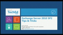 Microsoft Exchange Server 2010 SP2 Tips & Tricks