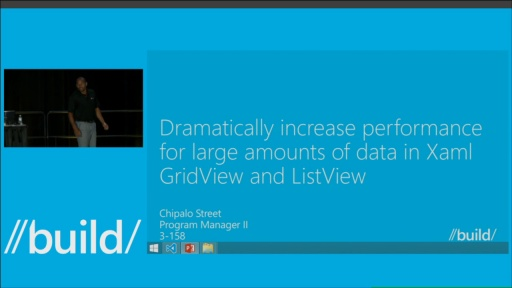 Dramatically Increase Performance when Users Interact with Large Amounts of Data in GridView and ListView