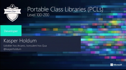 Portable Libraries in .NET - Sharing Code between Windows Phone & Windows Store Apps.