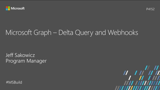 Microsoft Graph - Delta Query and Webhooks
