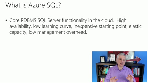Microsoft Azure Fundamentals: Storage and Data: (18) Understanding Azure SQL