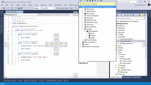 Adjusting Windows layouts in Visual Studio 2015