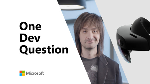 One Dev Question - What new HoloLens and Azure products were released in Barcelona?
