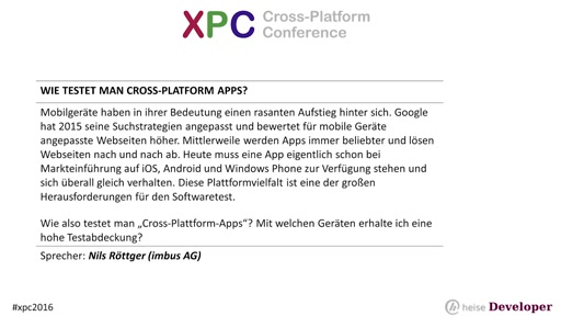 Wie testet man Cross-Plattform-Apps?