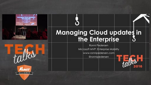 Tech Talks 2016 F5 Stage Managing Cloud Updates in the Enterprise