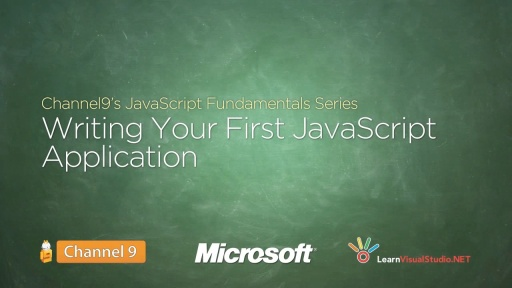 Writing your First JavaScript Application - 02