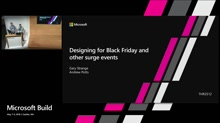 Designing for Black Friday and other surge events