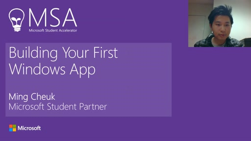 MSA - Building An App Part 1