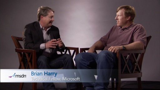 Bytes by MSDN: Brian Harry and Tim Huckaby discuss Team Foundation Server (TFS), Cloud, Window Azure and Visual Studio