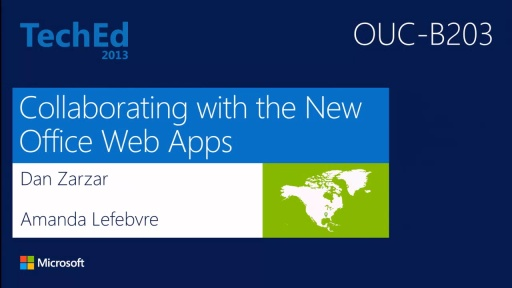 Collaborating with the New Microsoft Office Web Apps