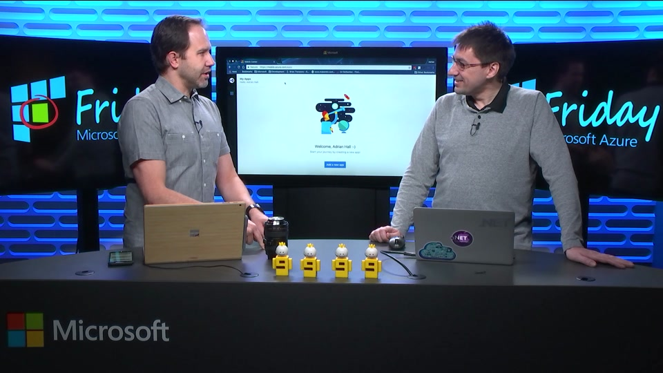 Connecting to the Cloud with Visual Studio Mobile Center