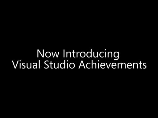 Visual Studio Achievements in 60 seconds
