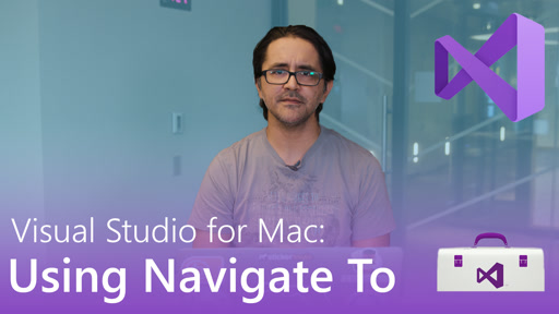 Visual Studio for Mac: Using Navigate To