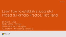 Establish a successful Project and Portfolio Management practice