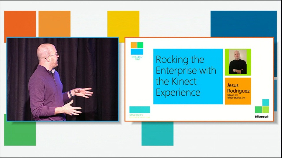 Rocking the Enterprise with the Kinect Experience