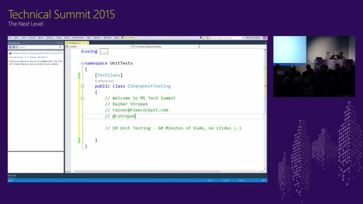 C# Unit Testing-Strategien mit Visual Studio 2015