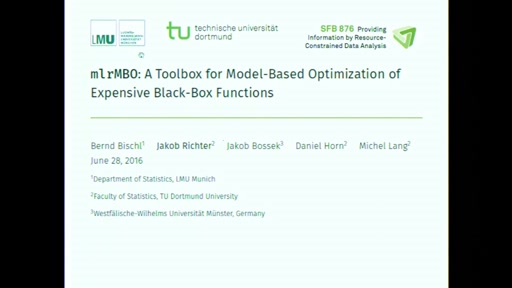 mlrMBO: A Toolbox for Model-Based Optimization of Expensive Black-Box Functions
