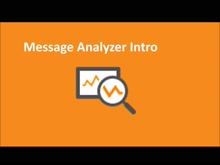 Introduction to Message Analyzer