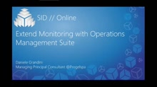 Extend Monitoring with Operations Management Suite
