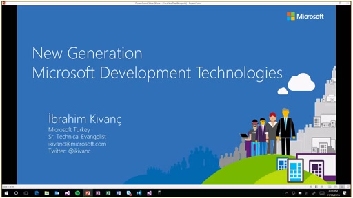 Live Training Program - Technical Training 1 (New Microsoft Development Technologies / Ibrahim Kivanc)