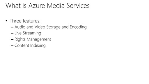 Microsoft Azure Fundamentals: Virtual Machines: (30) Tour of App Services: Media Services