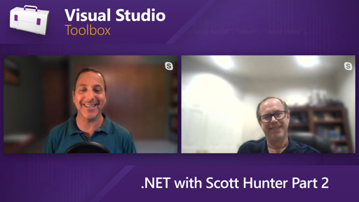 .NET with Scott Hunter Part 2