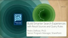Making Great Search Based Applications with Query Rules in SharePoint 2013